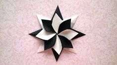 (7) Origami christmas star - YouTube