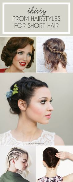 Look fab for prom night no matter how short your hair is with these 30 epic prom hairstyles for short hair. From chin-length to pixie cut, these short hairstyles for prom are sure to get you inspired.