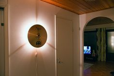 Walker uses Gentlemint to find and share manly things. Get started today. Drum Light Fixture, Light Fixtures, Music Furniture, Furniture Decor, Home Music Rooms, Music Crafts, New Room, Vintage Decor, Lights