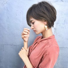 35 Short Bob Hairstyles 2019 for Women - Hairstyles Trends Cute Hairstyles For Short Hair, Pretty Hairstyles, Short Hair Cuts, Short Hair Styles, Pelo Pixie, Haircut And Color, Asian Hair, Hair Today, Hair Dos