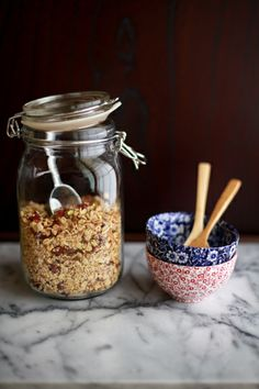 she who eats: breakfast from the jar