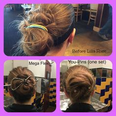 Lilla Rose can hold your hair no matter the length or type!  Check out this ladies hair - she needed two elastic hair bands to hold it all up. But with Lilla Rose, 1 mega flexi clip or 1 set of you-pins was all she needed for a lasting hair-do. http://lillarose.biz/rrobinson
