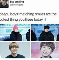One of my favorite things in BTS TTuTT The Daegu Couple~ <3