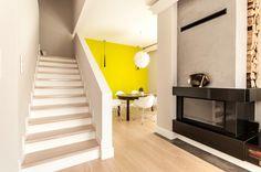 Przedpokój i schody - Segment w Kwirynowie TISSU Architecture