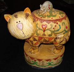 Seymour Mann Cat Mouse Resin Figurine   eBay