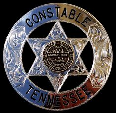 Tennessee Constable Law Enforcement Badge