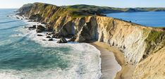 Chimney Rock trail view at Point Reyes - love this area, great day hiking and beach walks