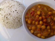 Chana Masala betyder groft oversat krydrede kikærter. Det er en lækker krydret…