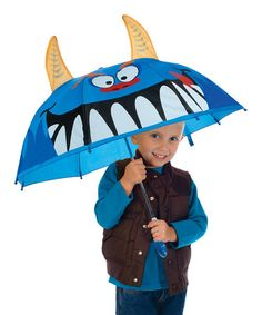 Take a look at this Monster Umbrella by Toysmith on #zulily today!