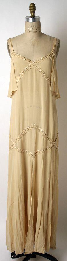 Evening Dress, Edward Molyneux (French, born Britain, 1891–1974): 1926, French, silk.