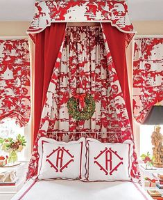 Habitually Chic® » Red and White Christmas