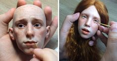 Russian Artist Creates Stunningly Realistic Doll Faces That'll Make Your Skin Crawl | Bored Panda