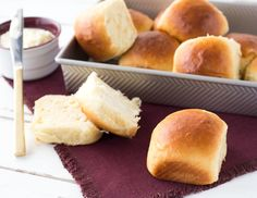 Soft, fluffy, and just sweet enough! Say aloha to those super cute Hawaiian Sweet Rolls. Better enjoy them while they're hot from the oven or paired with your favorite soup or slow cooker dish. What you need for the Hawaiian Sweet Rolls 4 ¾ cups (570 g)...