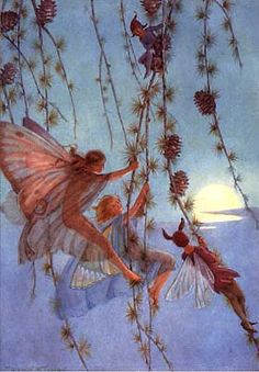 Swinging into Sunset Margaret Tarrant