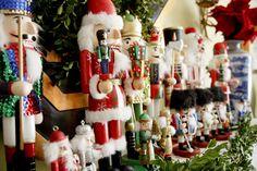My nutcracker collection. #christmas