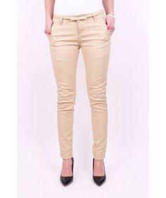 Elegantné nohavice béžové