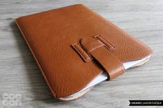 50OffAprilSpecialOffer iPad Mini Leather Sleeve . by CocoonByWL, $10.50