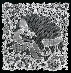 Halas lace from Hungary - I usually don't get into lace, but this is extraordinary