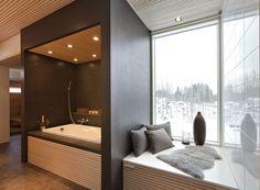 Spa, Bathtub, Bathroom, Home, Design, Interiors, Decoration, Blog, Standing Bath