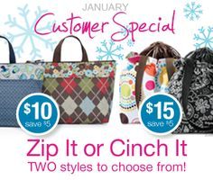 Thirty-One Special this month!!