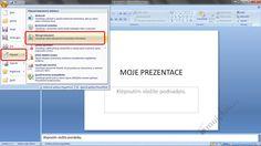 mujplan.cz     /Jak zaheslovat prezentaci v PowerPointu