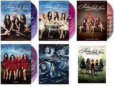 Pretty Little Liars Seasons 1-6 (DVD)