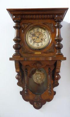 Amazing & Antique German Wall Clock Kienzle 1900s • $675.00