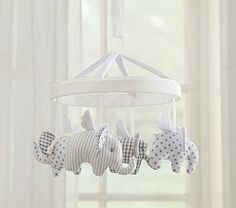 Baby Nursery Decorating & Gray Elephant Nursery | Pottery Barn Kids
