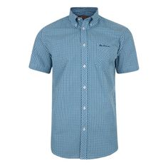 64506bfca6c Ben Sherman Mini Check Short Sleeve Shirt Pop Fashion