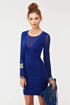 Mesh dress w amazing back $58