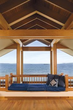 Alki Beach, West Seattle, Anderson Architect, 1998