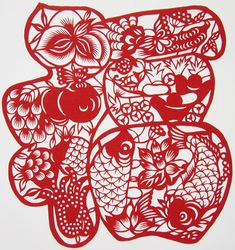 Chinese papercut bat   Chinese Paper Cutting Art for Sale - Subject Category: Lucky Chinese ...