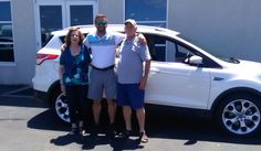 Pascal and Kathleen, we hope you enjoy your new 2014 FORD ESCAPE.  Congratulations and best wishes from Landmark Ford and BENJAMIN HEINEMANN.