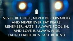 Doctor Who best quote