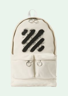 Off-White diag spray backpack
