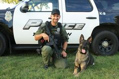 (Officer Hintz and K-9 Jager at National Night Out - 2010)