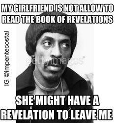 Ike turner - Revelation loll Jokes Quotes, Memes, Ike Turner, Revelation Bible, Hilarious, Funny Shit, Funny Stuff, Christian Humor, Lol So True