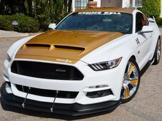 Hurst and Kenne Bell team up for SEMA Mustang Mustang Old, New Ford Mustang, Ford Mustang Shelby Cobra, Shelby Car, Mustang Cars, Ford Gt, 2017 Acura Nsx, Performance Cars, Ford Motor Company