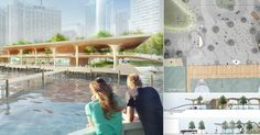 an Early Peek at the Design Proposals for the Jack Layton Ferry Terminal.Diller Scofidio+Renfro (New York City) + architectsAlliance (Toronto) + Hood Design (Emeryville, CA)