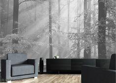 Sinfonia Della Foresta (Noir et Blanc) 12' x 8' (3,66m x 2,44m)
