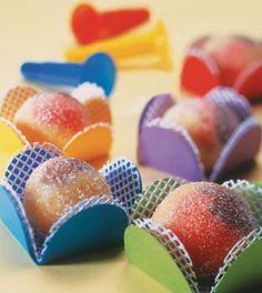 Docinhos coloridos para festas