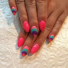 Shining-Pink-Winter-Acrylic-Nails Awesome Acrylic Nail Designs Trends Nail Art  Acrylic Nail Designs Trends