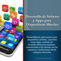 Encuentra la mejor manera de comunicarte con tus clientes, en Corporación V desarrollamos la app ideal para ti y tu empresa, conócenos.  http://www.corporacionv.com/
