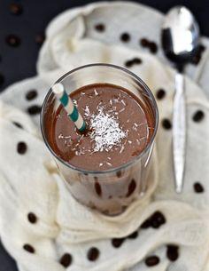 Chocolate Mocha Smoothie (Paleo, Vegan, GAPS)