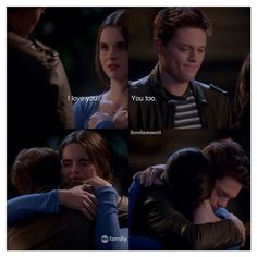 "#SwitchedAtBirth 4x01 ""And It Cannot Be Changed"" - Bay and Emmett"