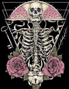 Skull Wallpaper, Dark Wallpaper, Tarot, Skull Artwork, Skeleton Art, Goth Art, Illustration, Anatomy Art, Skull And Bones