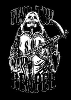 S.O.A Fear The Reaper by liquid-venom.deviantart.com on @deviantART