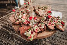 wedding food закуски на свадьбе