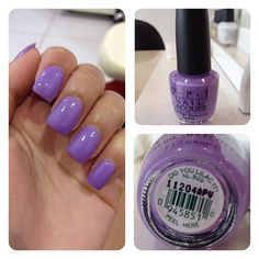 #OPI - do you lilac it?   nail artist - gina from hawaii nails salon
