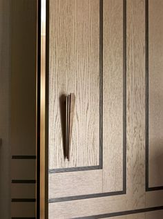 Marvel at Pullcast's new handmade products. Be aware on pullcast.eu Architecture Details, Interior Architecture, Interior Design, Door Design, Wall Design, Joinery Details, Built In Cabinets, Custom Cabinets, Wardrobe Design